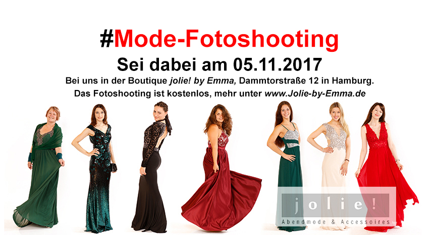 Kostenloses Fotoshooting ,Fotoshooting Modefotos Modefotoshooting Mode Abendkleider Abendkleid Hamburg jolie! by emma