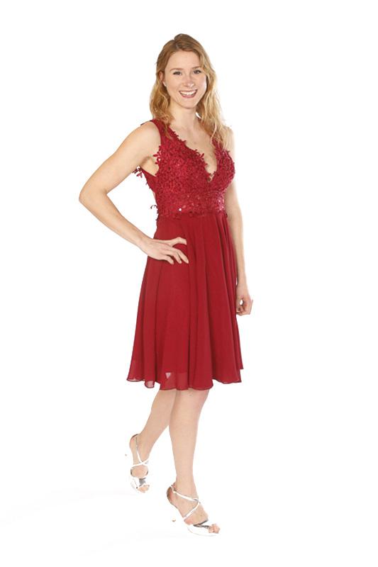 Rote Abendkleider - jolie! by Emma die Modeboutique in Hamburg